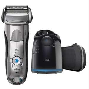 Braun Series 7 7898cc Mojado y Seco Afeitadora Eléctrica para Hombres - Plata (No Incluye el Líquido de Limpieza)