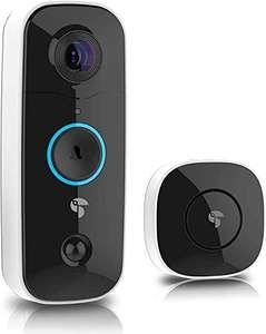 TOUCAN - Timbre inalámbrico vídeo Inteligente, 180 Grados, Full HD