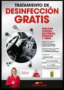 Desinfección gratuita Serranillos del valle
