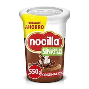Nocilla Original 0% Azúcares Añadidos - Sin Aceite de Palma - 550g (al tramitar)