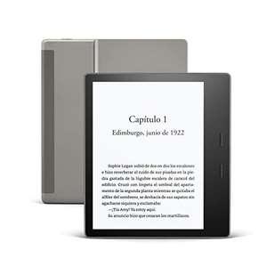 Kindle Oasis, ahora con luz cálida ajustable, resistente al agua, 32 GB, wifi + 4G gratis