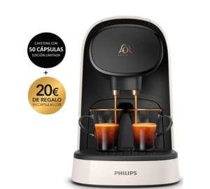 Cafetera Philips Lor Barista +50 Cápsulas de regalo +20€ en cápsulas de regalo + 10'24€ en un cupón regalo por sólo 59€