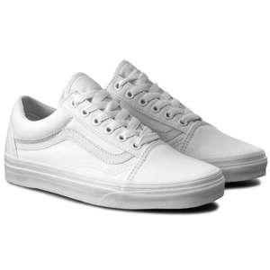 Zapatillas de tenis VANS Old Skool VN000D3HW00 True White