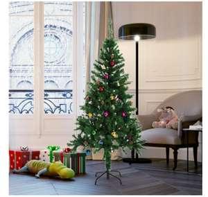 Árbol Navidad 150cm + 48 adornos
