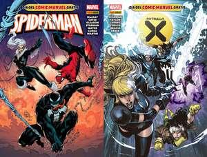DÍA DEL CÓMIC MARVEL: Spiderman y Patrulla-X (GRATIS) en las librerías el 12 de Noviembre