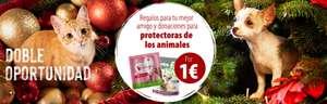 CALENDARIO DE ADVIENTO DE ZOOPLUS, 2x1 y 3x2 en pienso, latas y snacks// Packs de regalo ROYAL CANIN, y ofertas diarias.