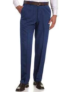 Pantalones de traje para hombre con plisado, corte regular y ajustado, muchos tamaños y colores