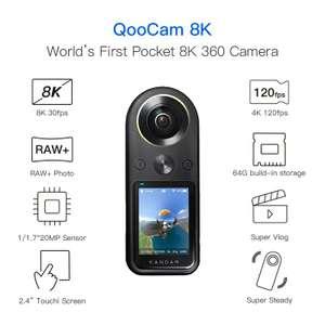 Camara 360 Kandao Qoocam 8K