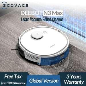 ECOVACS Deebot N3 Max Robot aspirador láser