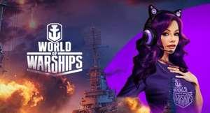 Contenido World of Warships gratis con Twitch