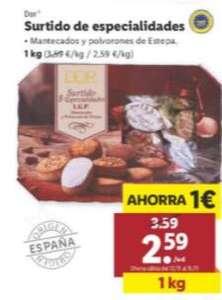 1kg de mantecados y polvorones por 2,59€ y otras ofertas