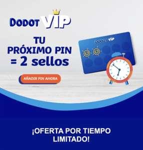 Dodot VIP - Pin x2 sellos