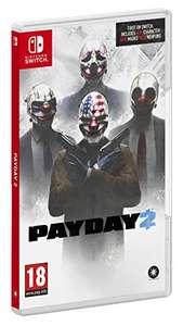 NINTENDO SWITCH: Payday 2 (juego físico) por tan sólo 14,90€ (Precio mínimo)