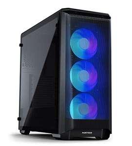 Phanteks Eclipse P400A Cristal Templado USB 3.0 RGB Negra