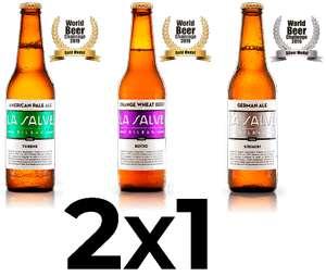 2x1 cerveza La Salve