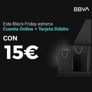 Llévate 15€ con BBVA este Black Friday