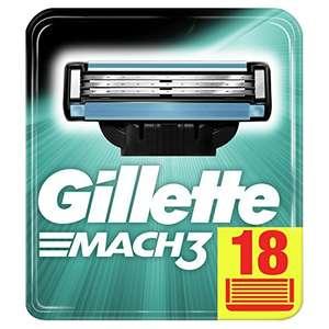 Gillette Mach3 - Pack de 18 cuchillas de recambio