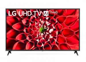 "TV LG 65"" 4K UHD 65UN7100LB - HDR10 PRO - Dolby Digital - AI ThinQ"
