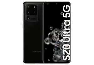 Samsung Galaxy S20 Ultra 5G, Negro, 128 GB, 12 GB RAM GRIS/NEGRO