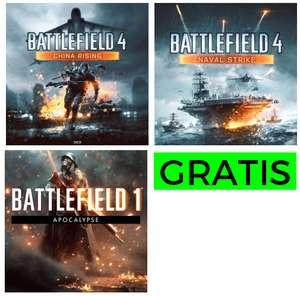 DLCs para Battlefield I y 4 GRATIS