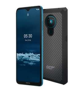 Nokia 5.3 con funda 007 Kevlar y un año extra de garantía