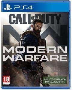 Call of Duty Modern Warfare (PS4, Físico, AlCampo Madrid, Jaén, Alicante)