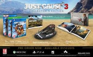 JUST CAUSE 3 EDICIÓN COLECCIONISTA - PS4 y XBOX One