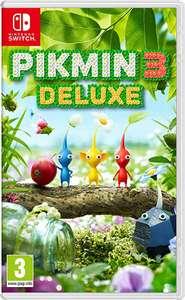 Pikmin 3 Deluxe mínimo histórico - Nintendo Switch