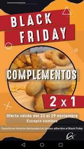 2x1 en complementos en Pizzeria carlos