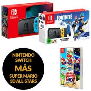 Nintendo Switch a elegir + Súper Mario 3D All Stars