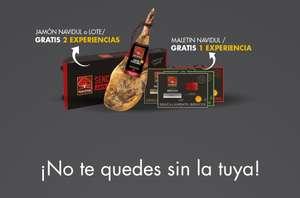 Jamones Navidul+ 10€ Descuento directo +Jamonero y Cuchillo + 2 Experiencias (Muchas para elegir) +Envío Gratis sin mínimo