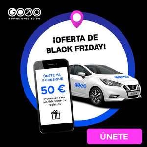 Consigue 50€ para probar GoTo, el nuevo Carsharing de ida y vuelta de Madrid.