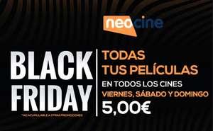 Black Friday en Neocine: películas a 5€