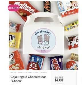 Caja Regalo Chocolates!
