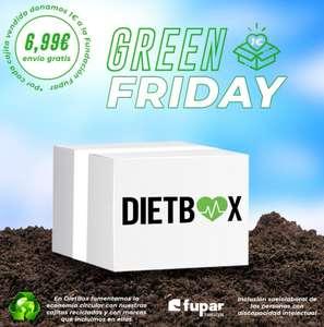 Dietbox con colaboración social.