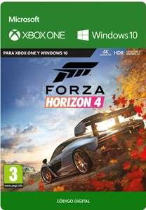 Forza Horizon 4 Xbox One y windows 10