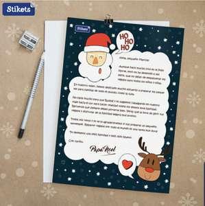 Cartas personalizadas de Papá Noel o los Reyes Magos para los peques gratis