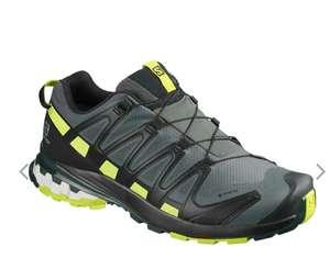 Zapatillas Salomon XA PRO 3D v8 GORE-TEX gris negro amarillo