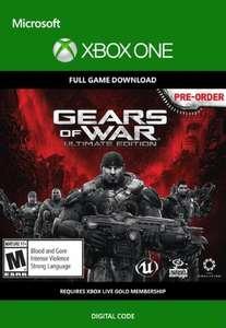 Gears of War: Ultimate Edition para Xbox One por solo 1,09€