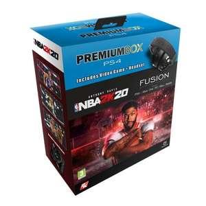 Premium Box Pack NBA 2K20 PS4 + Power A Fusion Auriculares Gaming