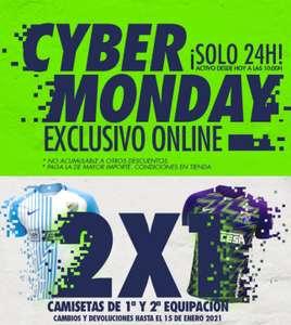 Cyber Monday: 2x1 en camisetas del Málaga (temporada 20/21)