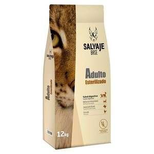 Pienso Marca Salvaje base para gatos esterilizados