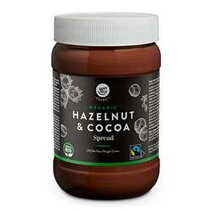 Crema de Cacao y Avellanas ecológica 800g por 3,57€ (3,76€ recurrente)