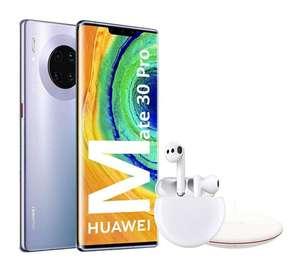 Huawei Mate 30 Pro + Freebuds + cargador inalámbrico