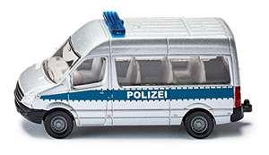 SIKU-Blister 0804 Autobús de policía Miniatura (Escala 1:55)