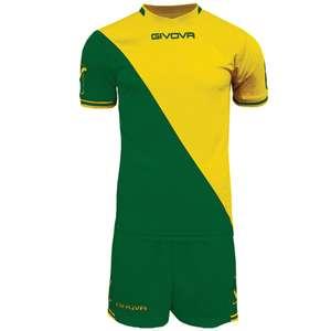 Givova Craft Conjunto de fútbol Camiseta con pantalones cortos. Talla L