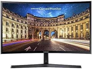 "Samsung C27F398FWU - Monitor Curvo 27"" (Full HD, LCD, 4 ms, 60Hz, VA, 250 cd / m²) Negro"