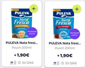 Pruébalo Gratis Puleva nata fresca para COCINAR/MONTAR