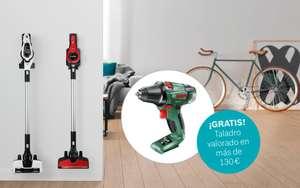 Bosch Serie | 6 Y DE REGALO UN TALADRO VALORADO EN 130€! Aspiradora sin cable Unlimited Blanco BCS61113