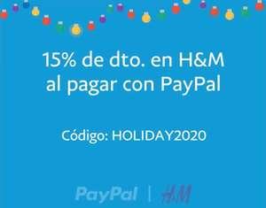 -15% al pagar con PayPal